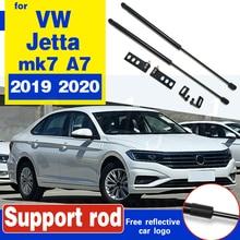 Передняя крышка капота двигателя поддержка гидравлический стержень, пружинный упор шок баров кронштейн для VW Jetta 2019 2020 mk7 A7 капот Распорки