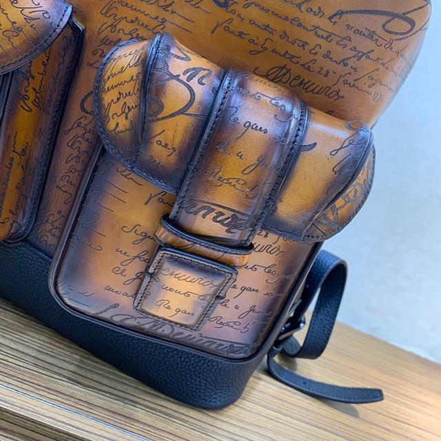Andonaimi bags Handmade cowhide leather fashion trend shoulder bag travel bag men bags women bags 4
