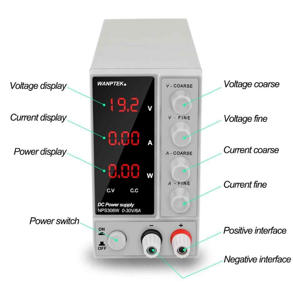 30V6A スイッチング調節可能な実験室電源電圧と電流レギュレータ電流スタビライザーデュアル電源ユニット