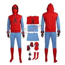 Костюм Человека-паука «Человек-паук: возвращение домой»; костюм Питера Паркера; Красный крутой наряд