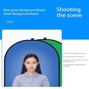 Image 5 - Fotografia portátil refletor chromakey pano de fundo verde azul tela backdrops painel para youtube vídeo studio100x150cm/150x200cm