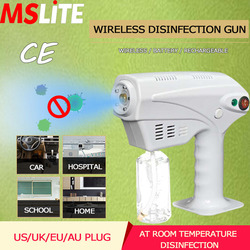 Pistola desinfectante inalámbrica, pistola de Mano Eléctrica inalámbrica, máquina desinfectante, purificador de aire personal