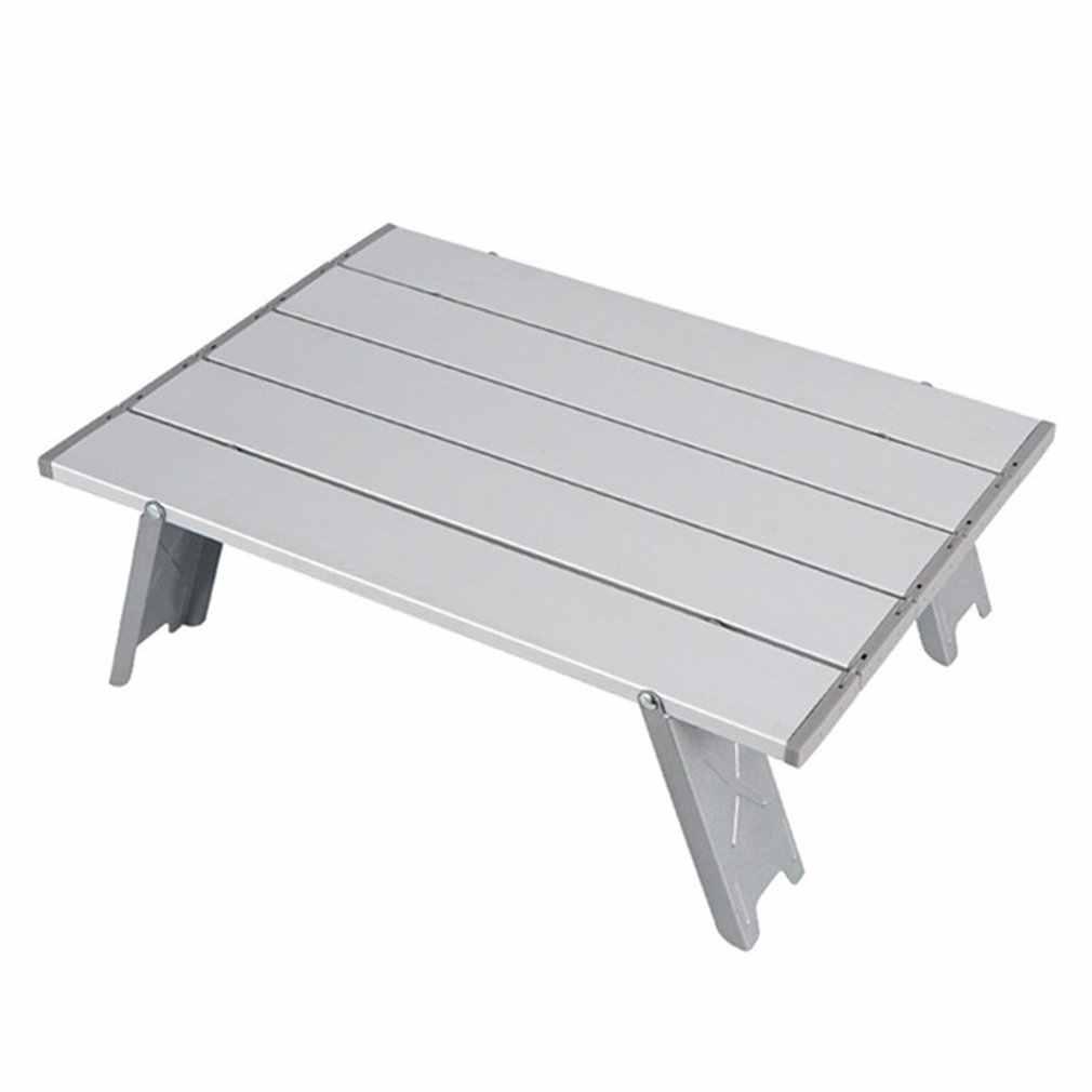 Mini Folding Tisch Im Freien Grill Camping Zelt Haushalt Bett Faltbare Computer Schreibtisch Aluminium Klapptisch