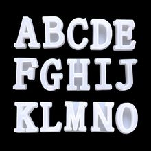 DIY Crystal Epoxy Silicone Mould English Alphabet Letters Numbers Handmade Jewelry Pendants Mold