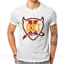 T-shirt à col rond pour homme, vêtement d'extérieur, en coton, de grande taille, à offrir en cadeau