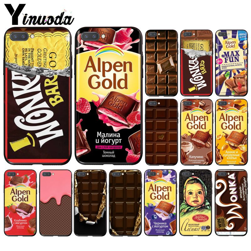 Yinuoda Wonka Bar With Golden Ticket Alpen <font><b>Gold</b></font> chocolate Phone Case for Huawei <font><b>Honor</b></font> 8A 8X <font><b>9</b></font> 10 20 <font><b>Lite</b></font> <font><b>Honor</b></font> 7A 7C Honor10i image