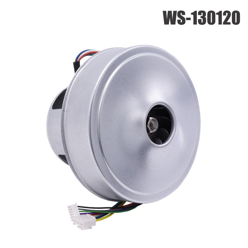 WS130120 Centrifugal Fan DC 24/48V Brushless High Pressure Large Air Volume Vacuum Cleaner Air Blower, Turbo Fan