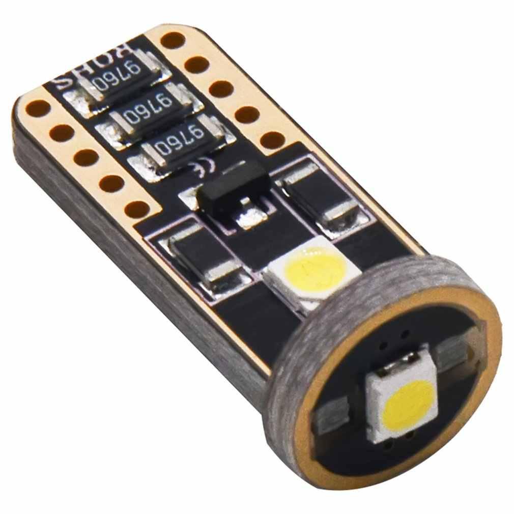 4 Pcs LED Memperhiasi 3030 6SMD Mobil License Plate Merah Lampu C5W 4 LED Dome Membaca Lampu Putih 12V