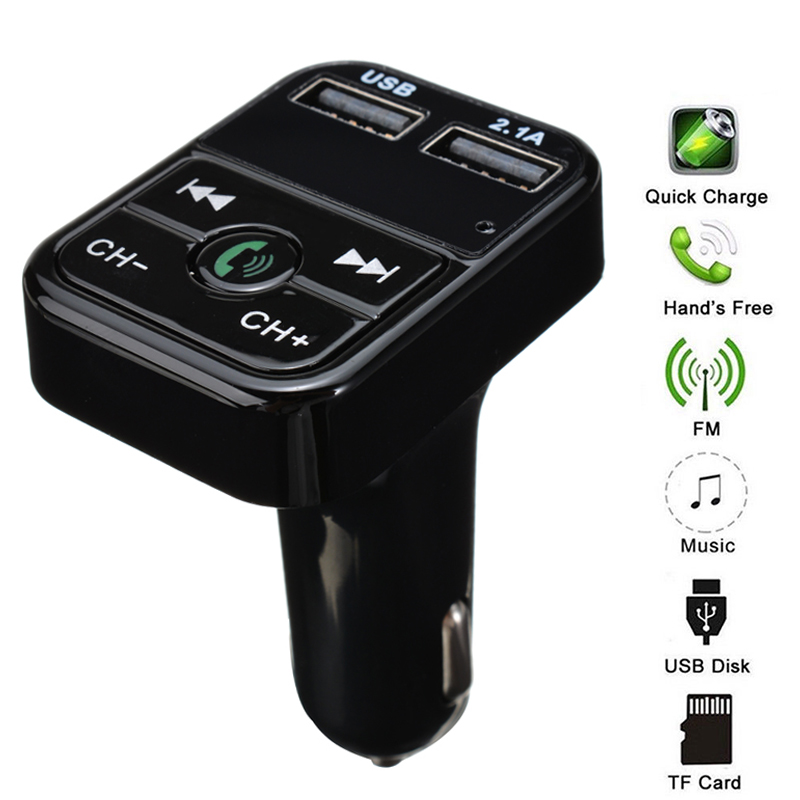 FM Bluetooth Car Transmitter Wireless Radio Adapter USB Charger Mp3 Player