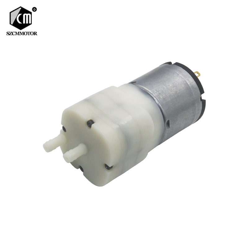 12V DC 528 Mini Aquarium Pump Fish Tank Motor For Diaphragm Pump AIR Pump With Air Intake And Air Vent Vacuum Pump