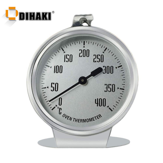 0-400 Celsius Stainless Steel Oven Thermometer Mini Dial Stand Up Temperature Gauge Gage Food Meat Kitchen Tools Oven Cooker 1