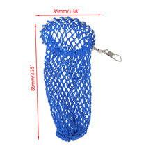 Fishing Bait Cage Mesh Nylon Line Wire Knitted Feeder Nest Cylinder Accessories Tackle