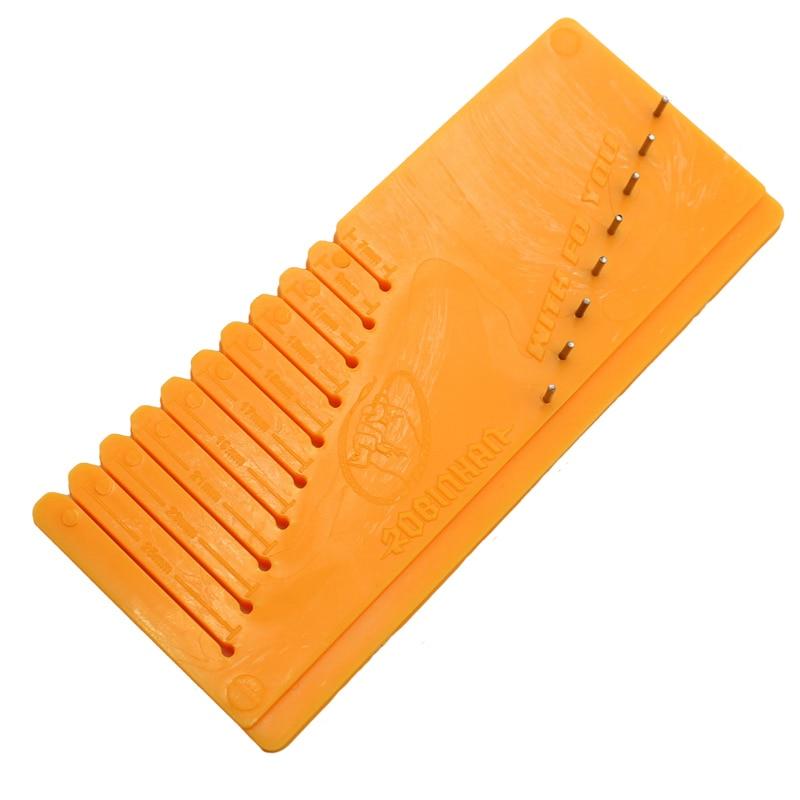 Carp Fishing Accessories Inline Method Feeder Fishing Tool Carp Hair Rig Tying Tool Gauge To Make Hair Of Feeder Rig Tackle Tool