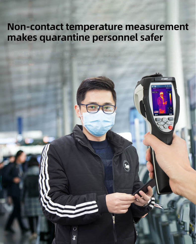 Infrared Thermal Camera With Live Streaming to Computer or TV Bluetooth For Human Body 5