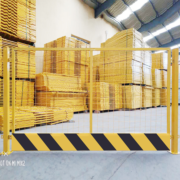 Manufacturers Direct Selling Architecture Work Site Construction Protective Barrier Foundation Pit Limb Safe Warning Handrail Fe