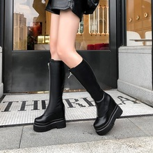autumn knee high boots women zipper motorcycle gothic boots wedges platform shoes thick high heels shoes woman botas zapatos nancyjayjii purple ruffles knee high boots zipper winter round toe spike heels women shoes woman botas botines zapatos mujer