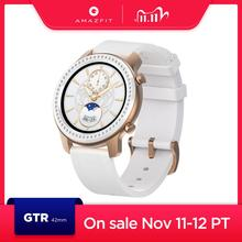 In Stock Glitter Edition New Amazfit GTR 42mm Smart Watch 5ATM womens watch12 Days Battery Music Control For Android IOS phone