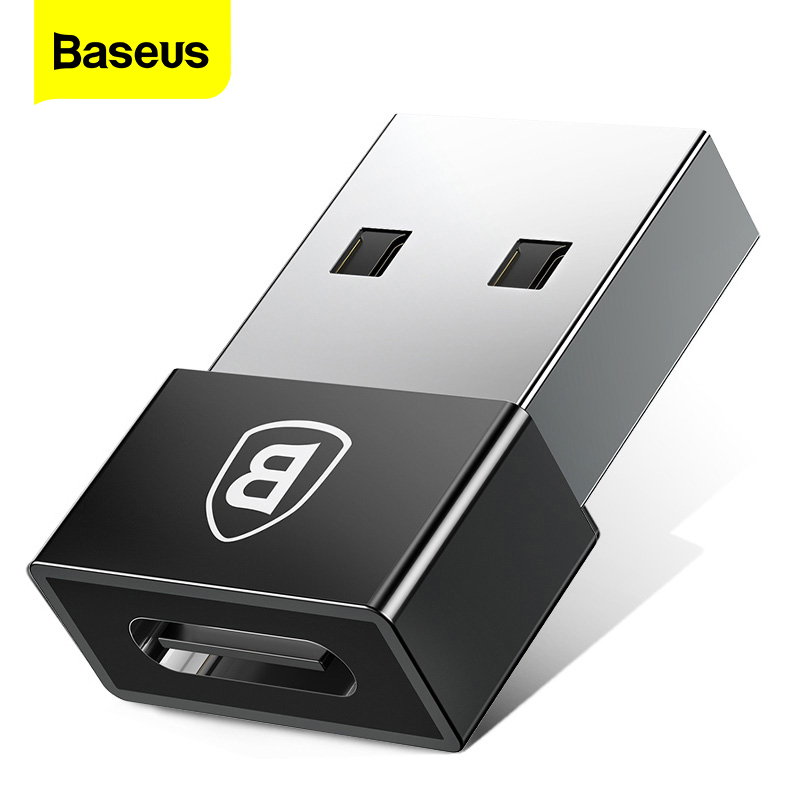 Baseus USB Male To Type C Female OTG Adapter USB C Converter For Xiaomi Nexus 5x 6p Oneplus 3 2 Macbook USB Type-C Cable Adapter