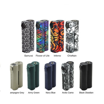 Heavengifts 150W Double Barrel V3 Box MOD for Squid Industries & Flat Top OLED Display No 18650 Battery VS Drag 2/Nano/ Shogun