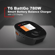 цена на ISDT T6 BattGo 780W 35A Smart LCD Battery Balance Charger Discharger for Lipo LiHv NiMH Battery For RC Models Multicopter VS Q6