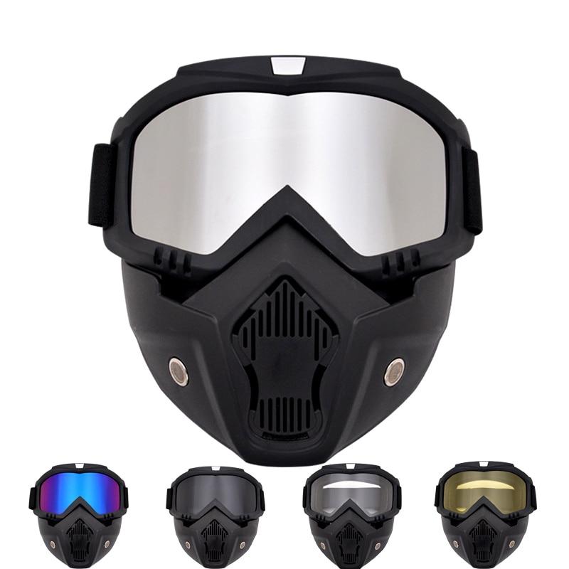 Winter Sports Ski Mask Mountain Downhill Skiing Snowboarding Glasses Ski Goggles Masque Ski Accessories