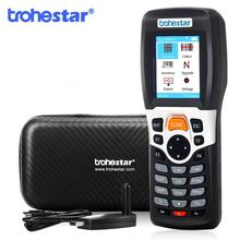 Trohestar Wireless Barcode Scanner 1D Bar Code Reader Tragbare Handheld Inventar Zähler Daten Sammler PDA Bar Code Scanner
