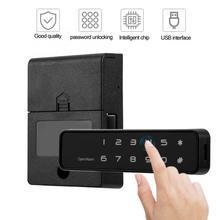 캐비닛 잠금 디지털 전자 12 버튼 잠금 서랍 캐비닛에 대 한 열쇠가없는 암호 보안 잠금
