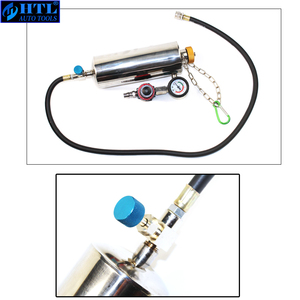 Image 4 - Kit de nettoyage et testeur dinjecteur de carburant sans démontage automobile avec étui pour voitures à essence EFI, réservoir 750ML, 145PSI