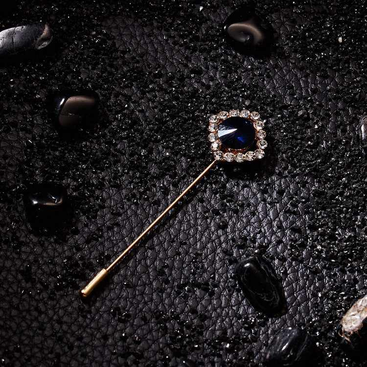 Semplice Violino Rotondo di Perle di Cristallo Spilla di Strass Delicato Metallo Ago Lungo Cappotto Risvolto Spille Sciarpa Fibbia per Le Donne Accessori