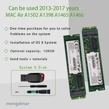 Nowy 128GB SSD dla Macbook Air 2013 2014 2015 A1465 A1466 imac PRO 2013 2014 2015 a1425 A1502 A1398mini dysk półprzewodnikowy