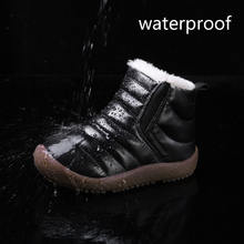 2019 Winter Boots Girls Waterproof Snow Shoes Kids Toddler Keep Warm Children For Girl Boys Boots Ankle Winter Baby Shoe Buty
