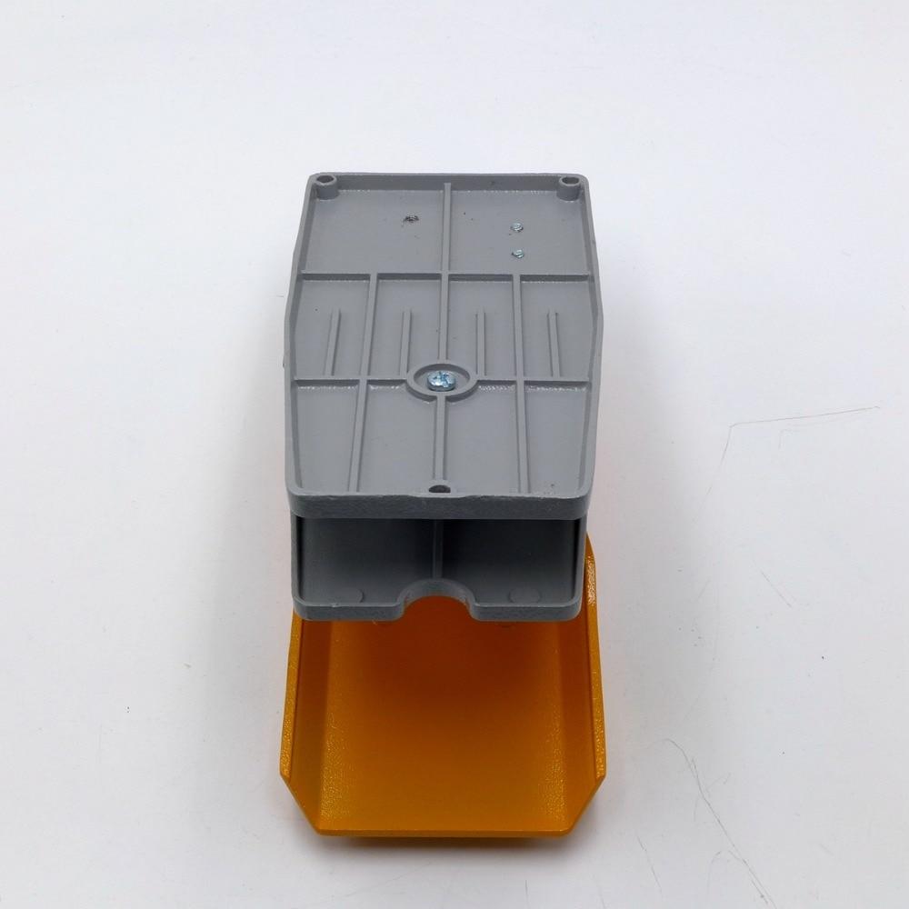 Pedal de pie de aluminio conmutador de soldadura soplete Tign