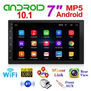 VODOOL Android 10.1 Car Radio Multimedia Video Player 7 inch Screen Auto Stereo Double 2DIN WiFi GPS FM Radio Receiver Head Unit