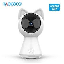 1080 720pクラウドhd ipカメラwifiキティ猫監視カメラベビーモニター赤外線セキュリティカメラワイヤレスcctvカメラYCC365