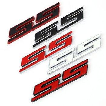 Автомобильная наклейка передняя крышка гриль эмблема решетка значок для Chevrolet SS Sport Cruze Camaro Captiva Aveo Lacetti наклейки на задний багажник