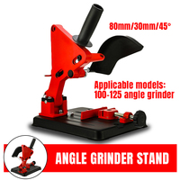 Angle Grinder Stand Angle Grinder Bracket Holder Support For 100 125 Cutter Angle Grinder Cast Iron Base Power Tool Accessory