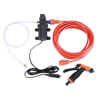 Water saving Car Wash 12V Car Washer Pump High Pressure Cleaner Car Care Portable Washing Machine Electric Cleaning Auto Device