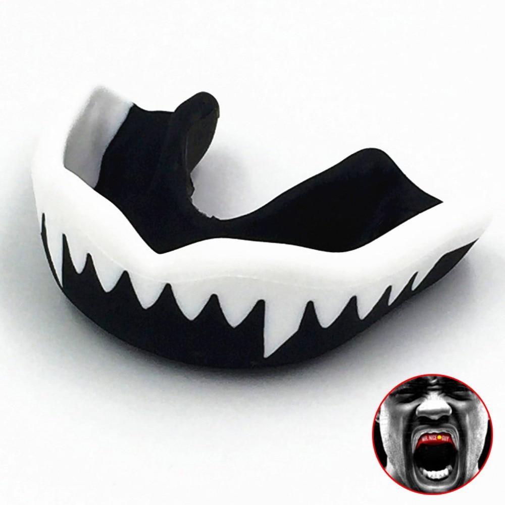 Mouthguard Taekwondo Muay Thai MMA Teeth Protector Football Basketball Boxing Mouth Safety Mouth Guard Oral Teeth Protect(China)