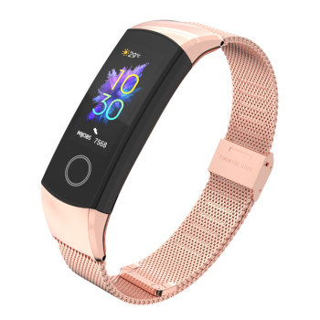 Wrist Strap For Huawei Honor Band 4/5 Strap Smart Wristband Milanese Metal Bracelet Band For honor band 4 Correa 1