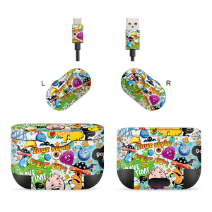 Image 4 - 3M Material Skin Protective Headphone Sticker Personality Decal Skin For sony wf 1000XM3