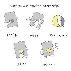 Image 5 - 73 Pcs 귀여운 레이블 애니메이션 스티커 일기 수제 접착 종이 찌질 일본 스티커 Scrapbooking 편지지 스티커