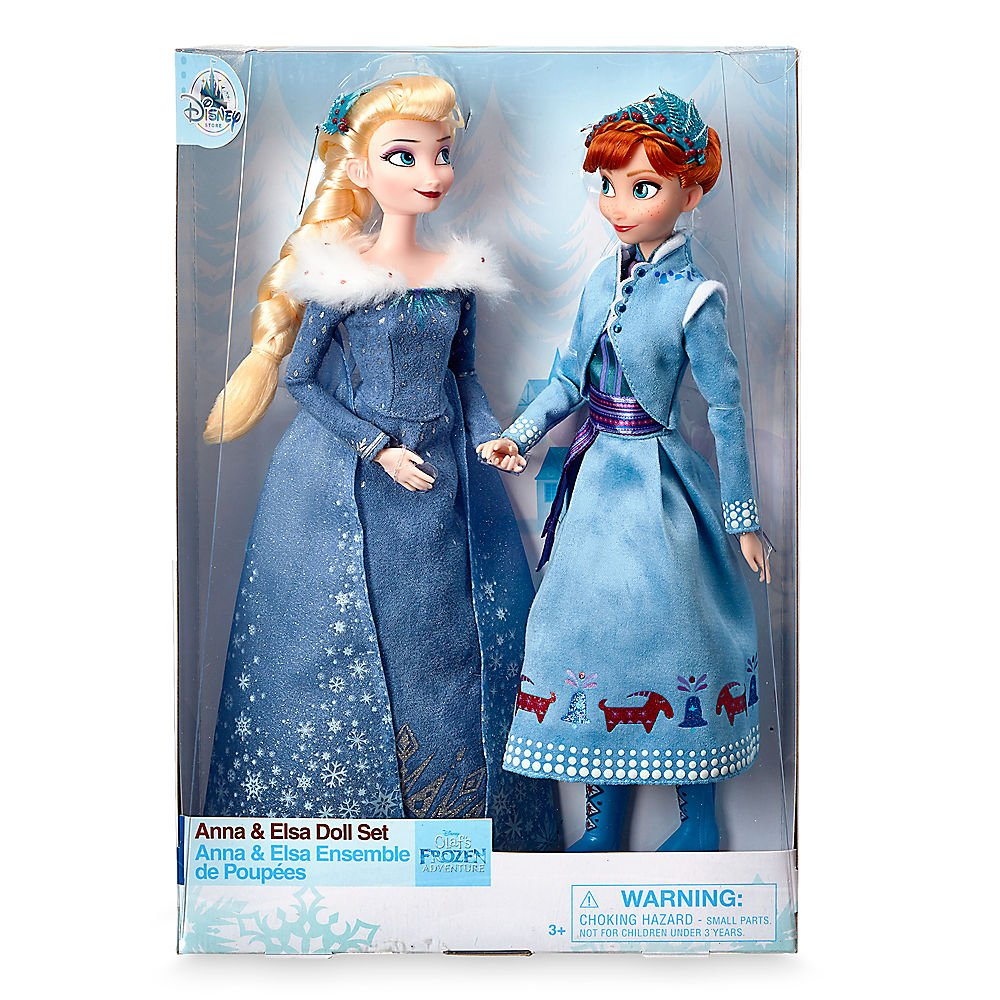 Frozen 2 Disney Elsa Anna Toys Doll Snow Queen Action Figure Children Girls Toys Christmas New Year Gift for Children