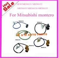 Conjunto de 5 pces oem mr180151 mr180152 mr180153 mr180154 mr180155 interruptor da caixa de transferência para mitsubishi montero pajero. K-M