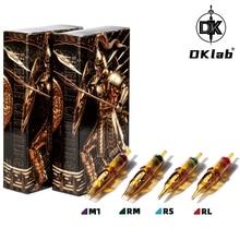 DKLAB New Version DK-Warrior Tattoo Cartridge Needles,Tattoo Needle Cartridges,0.35mm RL / RS / RM(MC) / M1,20pcs Pack