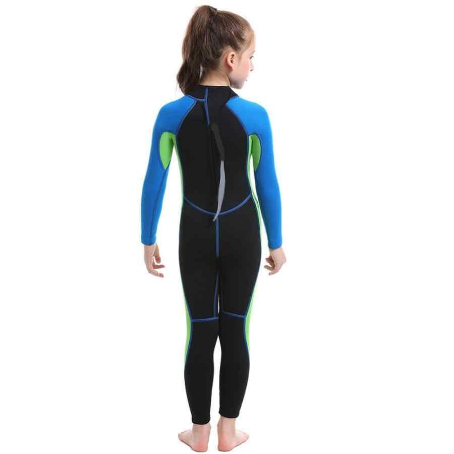 Kinder Langarm Warme Badeanzug Neopren Voller-körper Kinder Schnorcheln Schwimmen Neoprenanzug Kinder Badeanzug Tauchen Ausrüstung