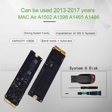 Оригинальный 128 Гб SSD для 2013 2014 2015 Macbook Pro Retina A1502 A1398 Macbook Air A1465 A1466 SSD твердотельный диск MAC ssd