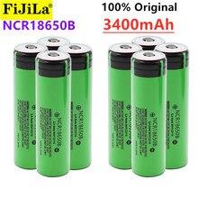 2021 neue Original Geschützt 18650 NCR18650B Wiederaufladbare Li-Ion akku 3,7 V Mit PCB 3400mAh Für Taschenlampe batterien verwenden