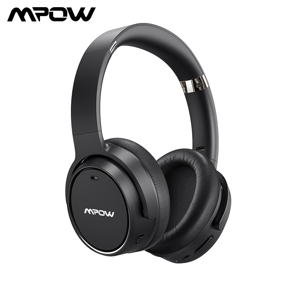 Mpow H19 Wireless Headphones ANC Bluetooth 5.0 Headphone 30H Playing Time Active Noise Cancelling Headset Deep Bass For Computer