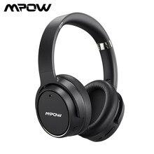 Mpow H19 Draadloze Hoofdtelefoon ANC Bluetooth 5.0 Hoofdtelefoon 30H Speeltijd Active Noise Cancelling Headset Diepe Bas Voor Computer