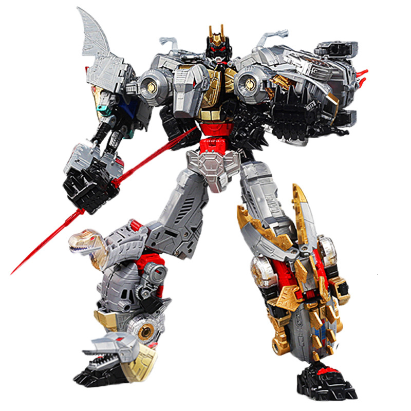 MFT Transformed Robot 14cm Dinobot Sludge Grimlock Snarl Slag Swoop Figure New